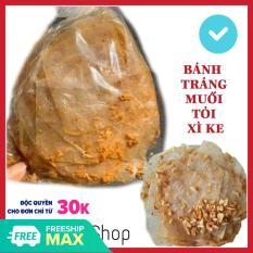 Sỉ 10 bịch Bánh tráng trộn muối nhuyễn tỏi phi – Bánh tráng xì ke (Bánh loại mới)