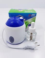 Máy đuổi muỗi tinh dầu parpar 3w/220v DÂY RÚT máy nhỏ gọn không tốn điện,an toàn cho trẻ em không mùi,không độc hại ( 1 máy + 1 lọ dầu 480h)