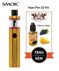 Vape Shisha Siêu Khói Smok Pen 22 50w + Full combo TẶNG KÈM TINH DẦU