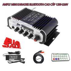 Amply công suất lớn, Ampli hát tại nhà, Amply hát karaoke gia đình. Amly giá rẻ, Amply Mini Karaoke Kentiger Bluetooth – Âm Thanh Đỉnh Cao, Thỏa Sức Ca Hát. Bảo Hành 1 đổi 1 bởi TĐP