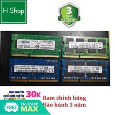 [Nhập ELJAN11 giảm 10%, tối đa 200k, đơn từ 99k]Ram Laptop DDR3L 4Gb bus 1600 – 12800s bảo hành 3 năm