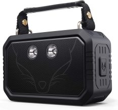 loa Bluetooth ngoài trời Doss Traveller 2x10W nghe nhạc 12 giờ