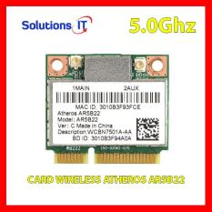 Card Wireless Atheros AR5B22 / DW1901 300M 2.4Ghz và 5.0Ghz – Card WIFI Mini PCI