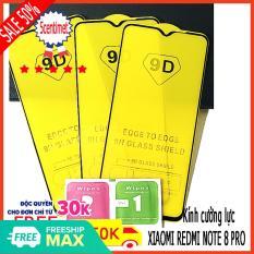 Kính cường lực XIAOMI REDMI NOTE 8 PRO ,Kính cường lực FULL màn hình , Tặng kèm giấy lau ướt và giấy lau khô 5CENTIMET