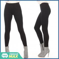 Quần Legging Nữ Bosimaz MS011 dài không túi màu đen cao cấp, thun co giãn 4 chiều, vải đẹp dày, thoáng mát không xù lông.
