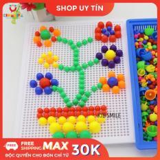 Đồ chơi trẻ em trồng nấm, ghim nấm tạo hình từ 296 nấm phát huy khả năng sáng tạo, phát triển tư duy và tăng cường tập trung cho trẻ từ 3 tuổi trở lên