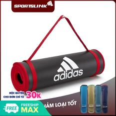 Thảm Yoga Training Fitness Adidas 10mm ADMT-12235 (Tặng túi)