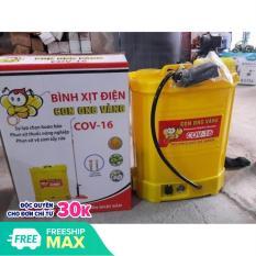 Bình phun xịt điện COV 16 (Con Ong Vàng 16 Lít, đeo lưng)