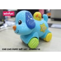 Chú cún Puppy ấn chạy có nhạc vui nhộn Winfun 0733 – Hàng chính hãng có bảo hành