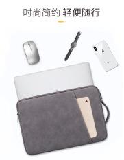 """Túi chống sock quai xách Macbook, laptop chất liệu cao cấp da cừu 2020 13.3"""" đến 14.1"""""""