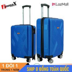 [ MIỄN PHÍ SHIP] Bộ 2 vali du lịch immaX X11 size 20icnh + 24inch/ Bộ vali nhựa du lịch 2 size