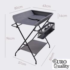 Euro Quality – Bàn thay đồ xếp gọn cho bé European Folding Diaper Table (Xám)
