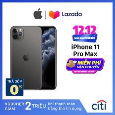 Điện thoại Apple iPhone 11 Pro Max – Hàng Chính Hãng VN/A – Màn Hình Super Retina XDR 6.5inch, Face ID, Chống nước, Chip A13, 3 Camera, Đi Kèm Sạc Nhanh 18W