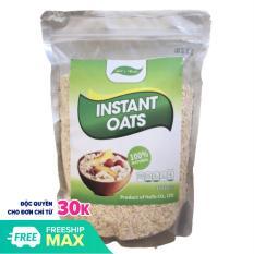 [FREESHIP 20K] Yến mạch instant oats cán vỡ túi 1Kg giảm cân tăng cơ giảm mỡ bảo vệ sức khỏe
