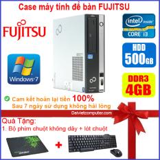 Case máy tính để bàn Fujitsu / HP CPU Dual Core E5xxx / Core i3-2100 / Ram 4GB / HDD 250GB-500GB / SSD 120GB-240GB [QUÀ TẶNG: Bộ chuột phím không dây + lót chuột]