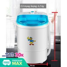 Máy giặt Mini, nhựa ABS cao cấp bền bỉ, giảm tiếng ồn, Giặt đồ cho bé, người già, dễ dàng sử dụng