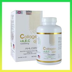 Viên Uống Collagen AEC 12000mg Ahlozen Mỹ 180 Viên – Hàng công ty