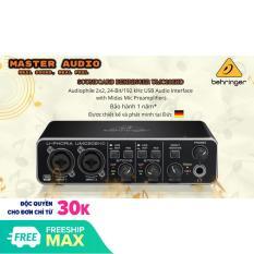 Sound Card thu âm Behringer U-PHORIA UMC202HD