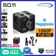 [Nhập LZDEL51 giảm 10% tối đa 200k cho đơn 99k] Camera mini siêu nhỏ hành trình xe máy phượt – SQ11 full hd 1080p chống rung chống nước – Bảo hành 12 tháng
