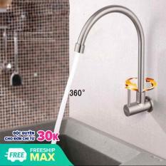 Vòi Rửa Chén Lạnh Inox 304 Âm Tường – Vòi Rửa Bát – Vòi Bếp