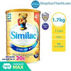[HSD T6-2022] Sữa bột Similac HMO số 4 (1.7kg)