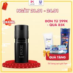 Xịt Ngăn Mùi Toàn Thân Axe Black (150ml)