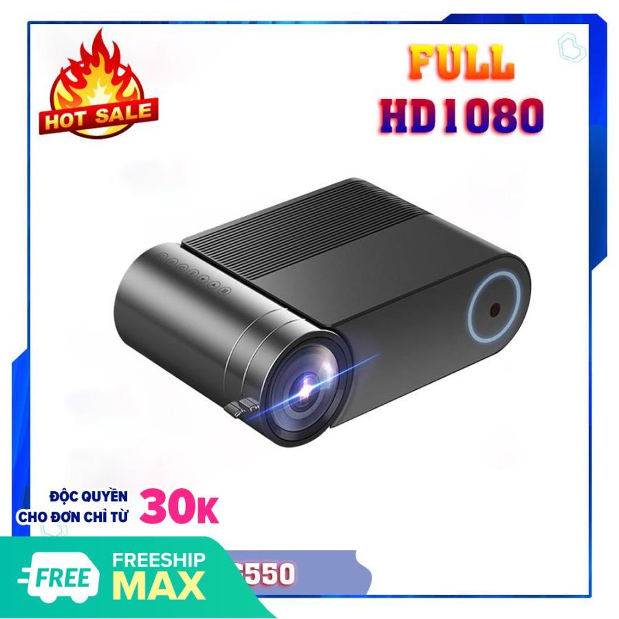 Máy chiếu mini YG550 - Máy chiếu xem phim full HD YG550 dành cho gia đình , văn phòng [...