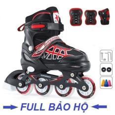 Giày trượt patin bánh cao su phát sáng
