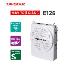 Takstar E126 loa mic Máy trợ giảng mini cao cấp hướng dẫn viên Giáo viên loại có dây bán hàng