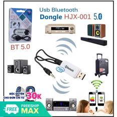 [Lấy mã giảm thêm 30%]USB Bluetooth DONGLE mẫu mới 5.0 tốc độ vượt trội kết nối phạm vi 8-10 mét
