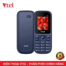 Điện thoại di động Vtel A1 -2 SIM (Màu Xanh Đen) – Bảo Hành 12 Tháng