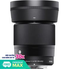[Nhập LZDEL51 giảm 10% tối đa 200k cho đơn 99k] Ống kính Sigma 30mm F1.4 DC DN For Sony E-Mount (Hàng Shriro Việt Nam)