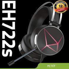 Tai nghe Dareu EH722s Black – Bảo hành 12 tháng