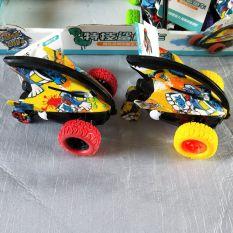 Xe Ô tÔ đồ chơi, xe địa hình Cá Mập xoay vòng 360 độ chạy bánh đà cực mạnh .