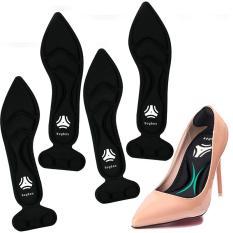 2 cặp miếng lót giày cao gót cao cấp cho giày bị rộng, giúp giảm size, chống thốn gót – buybox – BBPK11