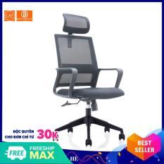Ghế xoay tựa đầu cao cấp B0171- Computer chair – Xoay 360 độ – Nâng hạ cao thấp – Chống ê mỏi cổ