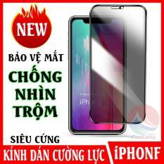 Kính Cường Lực Chống Nhìn Trộm iPhone, Bảo Vệ Màn Hình Rất Cứng, Khó Bám Mồ Hôi Vân Tay, cường lực chống ánh sáng xanh, miếng dán kính cường lực cho điện thoại iphone 12 X XR XSMax 11 11Pro 11ProMax, miếng dán bảo vệ màn hình CuuL