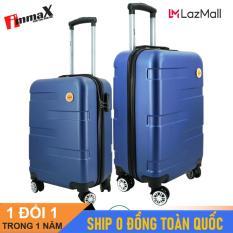 [ MIỄN PHÍ SHIP] Bộ 2 vali du lịch immaX X14 size 20icnh + 24inch/ Bộ vali nhựa du lịch 2 size