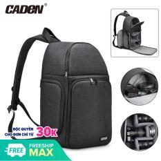Balo máy ảnh thao tác nhanh Caden D15