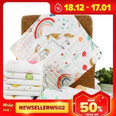 Khăn sữa aden 6 lớp (10 khăn), sản phẩm tốt với chất lượng và độ bền cao, cam kết giống như hình