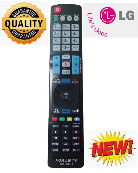Điều khiển tivi LG RM-L930+2 -Mẫu mới chất lượng cao -Mới 100%