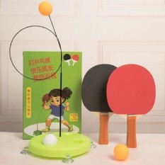 Bóng bàn luyện phản xạ Loại Tốt – Bộ đồ chơi bóng phản xạ – Dụng cụ tập đánh bóng bàn cho mọi lứa tuổii bóng phản xạ – Dụng cụ tập đánh bóng bàn cho mọi lứa tuổi (gồm 4 bóng, 2 dây)