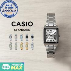 Đồng hồ nữ dây kim loại Casio Standard chính hãng Anh Khuê LTP-V007 Series