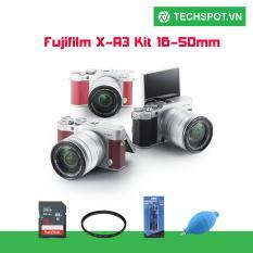 FUJIFILM X-A3 KIT XC16-50MM F3.5-5.6 OIS II + Tặng kèm 1 thẻ 16GB 48MB + 1 Filter 58mm +1 Bút lau lens + 1 Túi Mirroless màu ngẫu nhiên