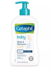 Sữa tắm gội toàn thân cho bé Cetaphil Baby 399ml