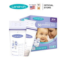 Túi trữ sữa Lansinoh 180ml (50 túi/ hộp)- HSD 11.2022