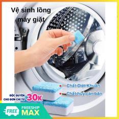 Viên tẩy máy giặt , tẩy lồng máy giặt ( COMBO 4 Viên ) , khử mùi , diệt Vi khuẩn và cặn dơ SOTY MA-027 sử dụng dễ dàng , quần áo luôn sạch và thơm tho