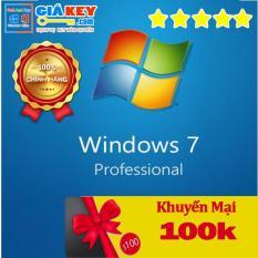 Win7 Pro – Digital Key [Chuẩn MSDN]