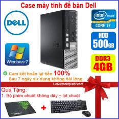 Case máy tính để bàn DEL CPU Dual Core E5xxx / Core i7-3770 / Ram 4GB / HDD 250GB-500GB / SSD 120GB-240GB [QUÀ TẶNG: Bộ chuột phím không dây + lót chuột]