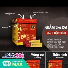 Cà phê sâm ( 1 hộp 30 gói) Ginseng Coffee Cà phê giảm Cân